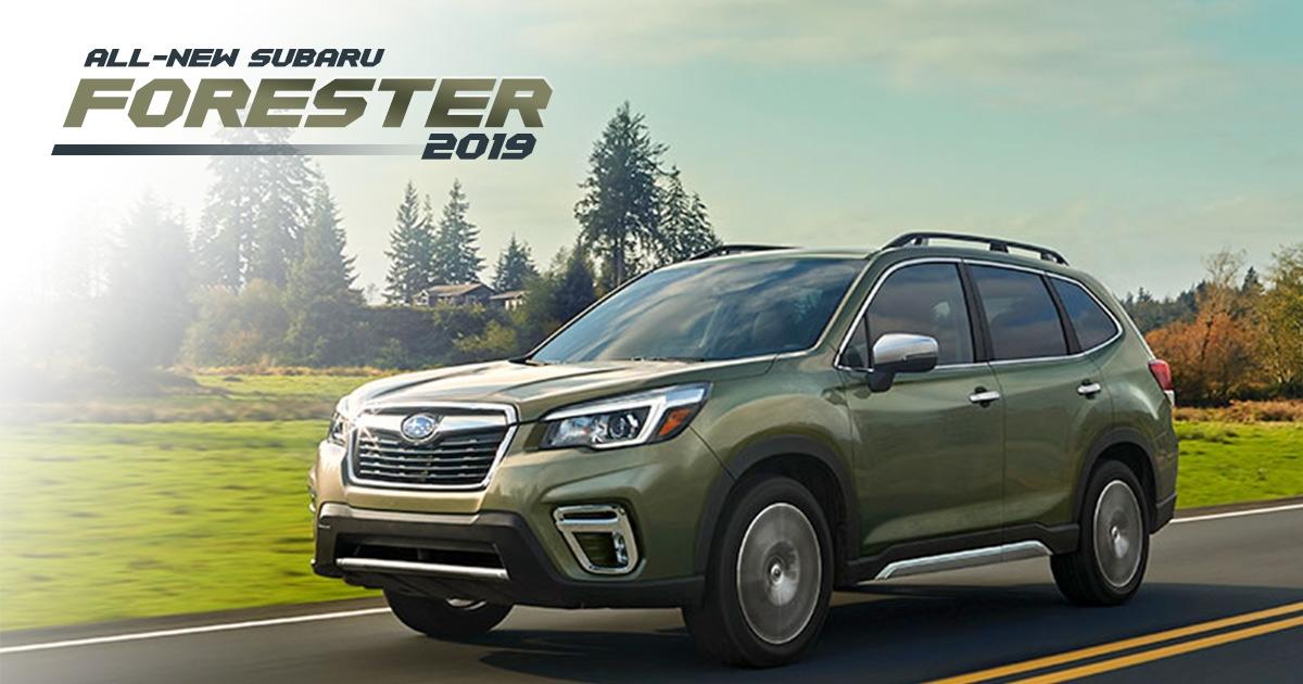 All-new Subaru Forester 2019 ทำใจกับดีไซน์แล้วโฟกัสที่การ