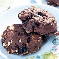 Image result for คุกกี้ช็อคโกแลต ลูกเกด