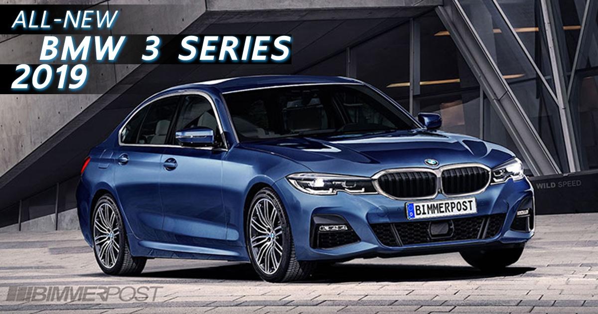 All-new BMW 3 Series 2019 (G20) จะมีรูปร่างหน้าตาประมาณนี้