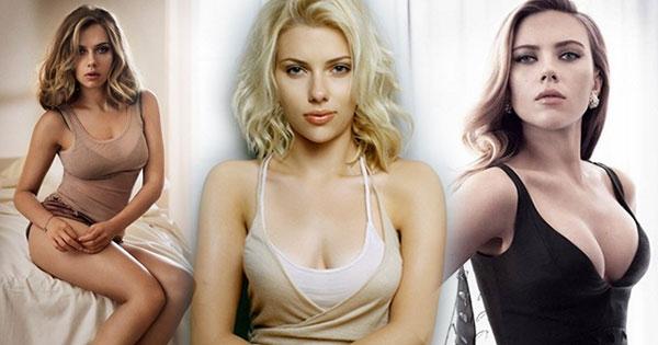 Scarlett Johansson สาวอึ๋มพราวเสน่ห์จาก Captain America ในลุคเซ็กซี่บาดใจ