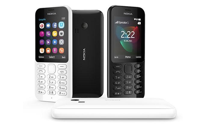 เปิดตัว Nokia 222 ฟีเจอร์โฟนปุ่มใหญ่ จอสี ราคาประหยัด