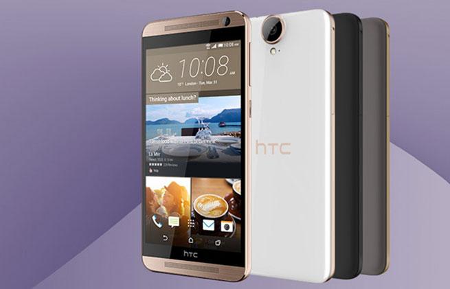 เปิดตัว HTC One E9+ หน้าจอ 5.5 นิ้ว QHD, ซีพียู MediaTek