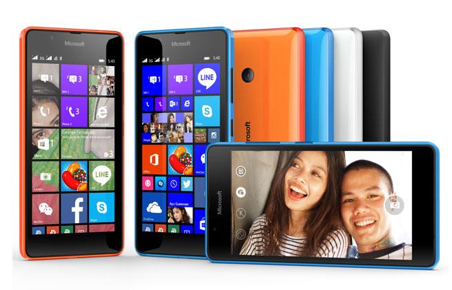 เปิดตัว Microsoft Lumia 540 Dual SIM มือถือวินโดวส์โฟนราคาถูก