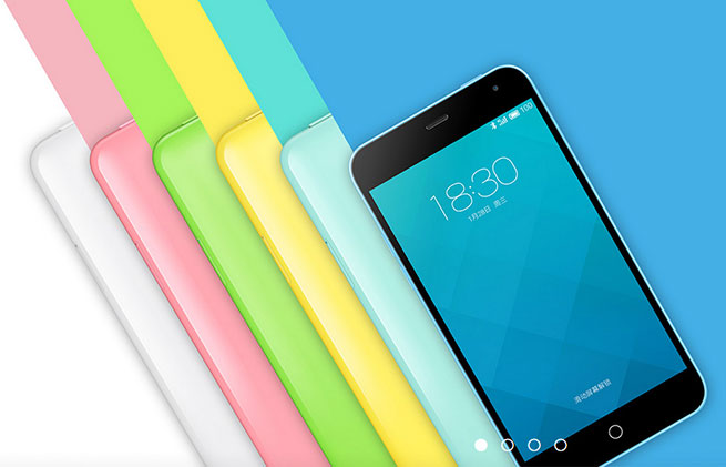 เปิดตัว Meizu m1 สมาร์ทโฟนราคาประหยัด หลากสีสัน