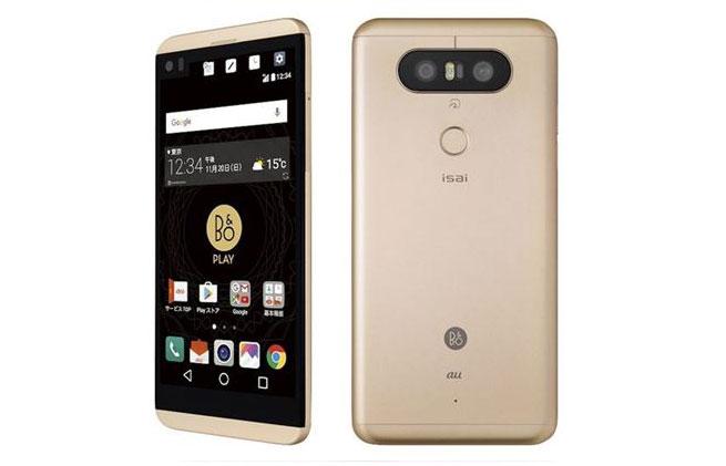 LG เปิดตัว LG V34 isai Beat สมาร์ทโฟนคู่แฝด LG V20