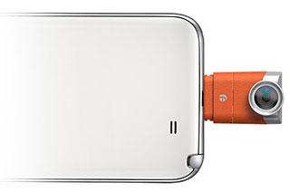 Eye-Plug เลนส์กล้องจิ๋วสำหรับ Android กำหนดโฟกัสหลังถ่ายได้