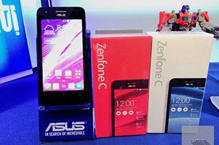 ASUS เปิดตัว ZenFone C รุ่นลดสเปค เพิ่มแบตเตอรี่