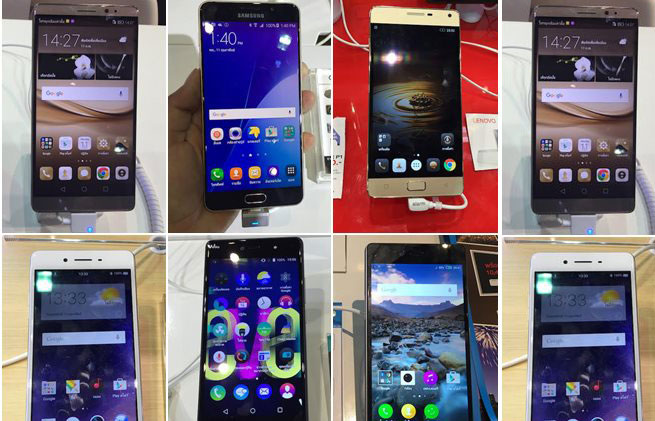 20 มือถือน่าซื้อในงาน Thailand Mobile Expo 2016