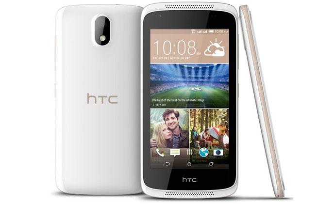 เปิดตัว HTC Desire 326G มือถือ 2 ซิม ราคาประหยัด