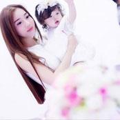แอบส่องภาพ เอลลี่ เจิ่น กับ ลูกสาว น่ารักน่าเลิฟทั้งแม่และลูก