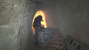 เปิดอุโมงค์ใต้ดิน ISIS มีที่นอน-ไฟฟ้าพร้อม ใต้แผ่นดินอิรัก