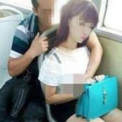 อายตูหน่อยเถอะ ตี๋จีน...กับสาวบนรถสาธารณะ แบบนี้มันใช่หรา 18+