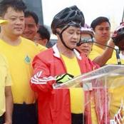 เอิ่ม...ใครใส่หมวกให้ท่านผู้ว่าฯ ในงาน Bike For Mom